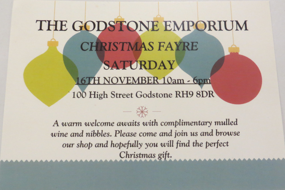 Join us at our 2019 Christmas Fayre